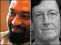 Gamal Nrumah (L) and Eric Reeves (R)