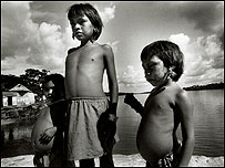 Niños Yanomami en Venezuela (Foto: Cristian Vera)