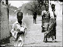 Niño en Senegal (Foto: Cristian Vera)
