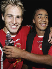 Luke Varney and Nicky Maynard
