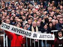 Marcha pide justicia en el caso de la AMIA (imagen de archivo)