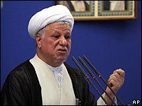 Ali Akbar Rafsanjani, ex presidente iran� (archivo)