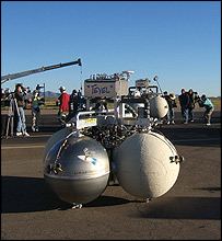 The Armadillo team's lander