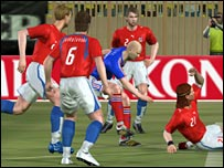 Screengrab of Pro Evolution Soccer 6