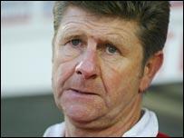 Shrews boss Gary Peters