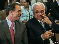 Eduardo Montealegre y José Rizo
