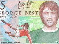 George Best £5 note