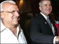 José Rizo y Oliver North