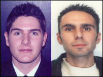 Charles Fletcher (l), 25, and Phillip Parr (r), 40