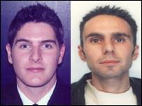 Charles Fletcher (l), 25, and Phillip Parr (r), 40