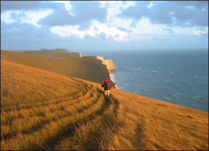 Weymouth to Swanage coastal path