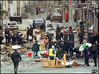 The Real IRA was behind the 1998 Omagh atrocity
