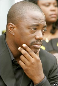 Congolese President Joseph Kabila