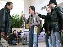 لقطة من مسلسل سوري