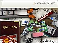 JK Rowling website screengrab