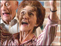 June Brown as Dot Cortton in EastEnders