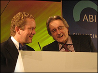 Impressionist John Culshaw and Money Box Presenter Paul Lewis