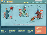 BookMooch website