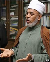 Sheikh Taj el-Din al-Hilali in a photo dated 31 July, 2006