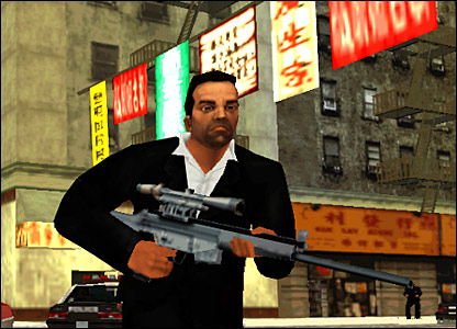 Screenshot from GTA: Liberty city Stories