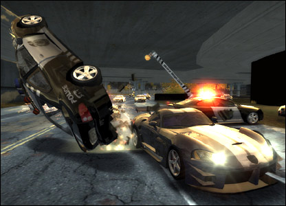 Screenshot from Need for Speed: Most Wanted