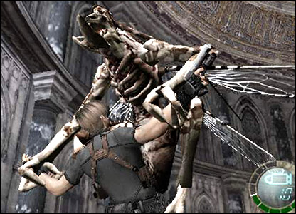 Screenshot from Resident Evil 4