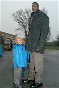 Somali man tallest Meet The