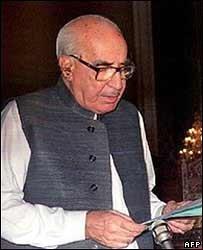 Ghulam Ishaq Khan in 1993