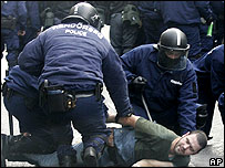 Hungarian police make arrest on 23 October