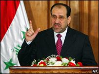 Iraqi Prime Minister Nouri al-Maliki (file image)