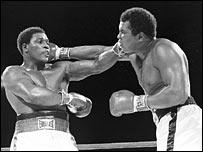 Trevor Berbick and Muhammad Ali