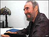 Cuban President Fidel Castro (13 September 2006)