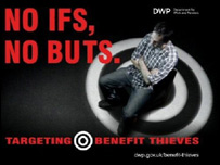 Benefit fraud poster