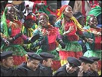 Cameroonian football fans