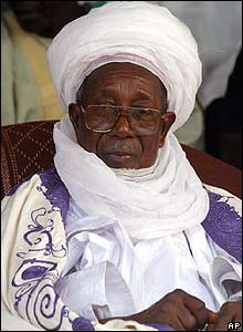 The Sultan of Sokoto, Mohammadu Maccido (file photo 18 March 2005)