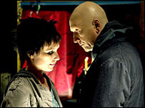 Shawnee Smith and Tobin Bell in Saw III