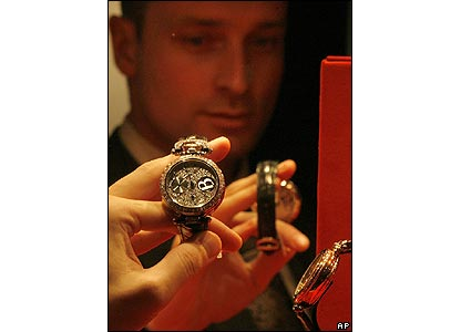 Bovet watches on show at Moscow's Millionaire Fair