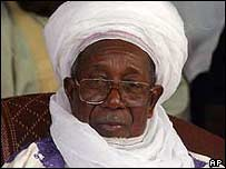The Sultan of Sokoto Mohammadu Maccido
