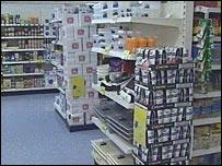 Drink in supermarket
