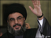 Hezbollah leader Sheikh Hassan Nasrallah