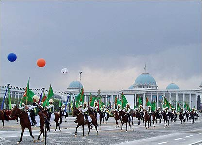 Independence Day celebrations in the Turkmen capital Ashgabat