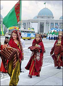 Independence Day celebrations in Ashgabat