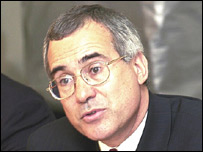 El economista Sir Nicholas Stern, encargado del informe brit�nico sobe cambio clim�tico.