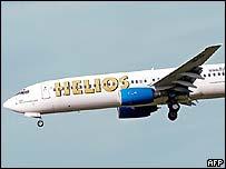 Helios Airways plane