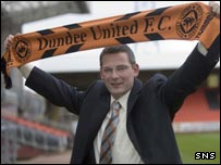 New Dundee United manager Craig Levein