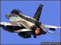 Israeli warplane (photo: 23 July 2006)
