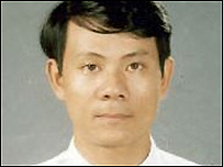 Vietnamese pro-democracy activist Pham Hong Son, released from jail Aug 2006