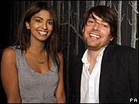 Konnie Huq and Alex James