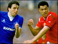 Graham Sharpe and Paul McGrath