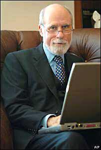 Vint Cerf es uno de los fundadores de internet.
